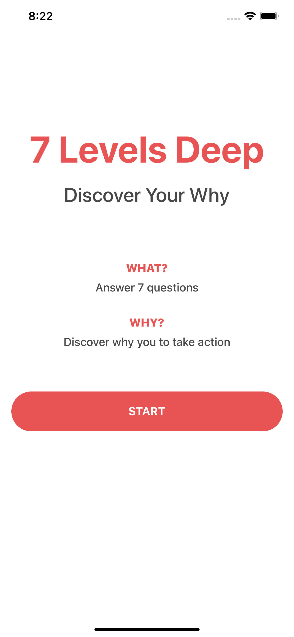 7 Levels Deep - Discover Your Why