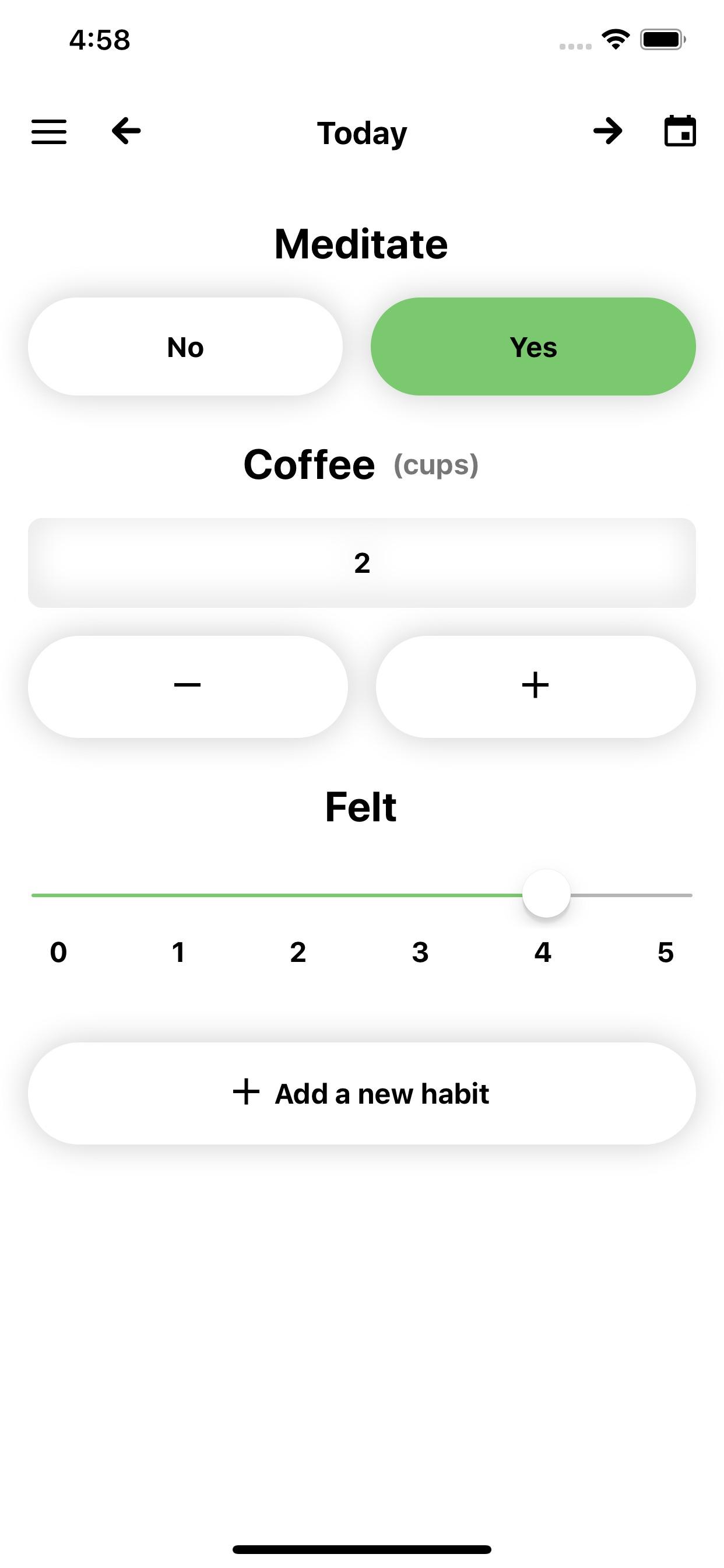Aware - Daily Habit Tracker