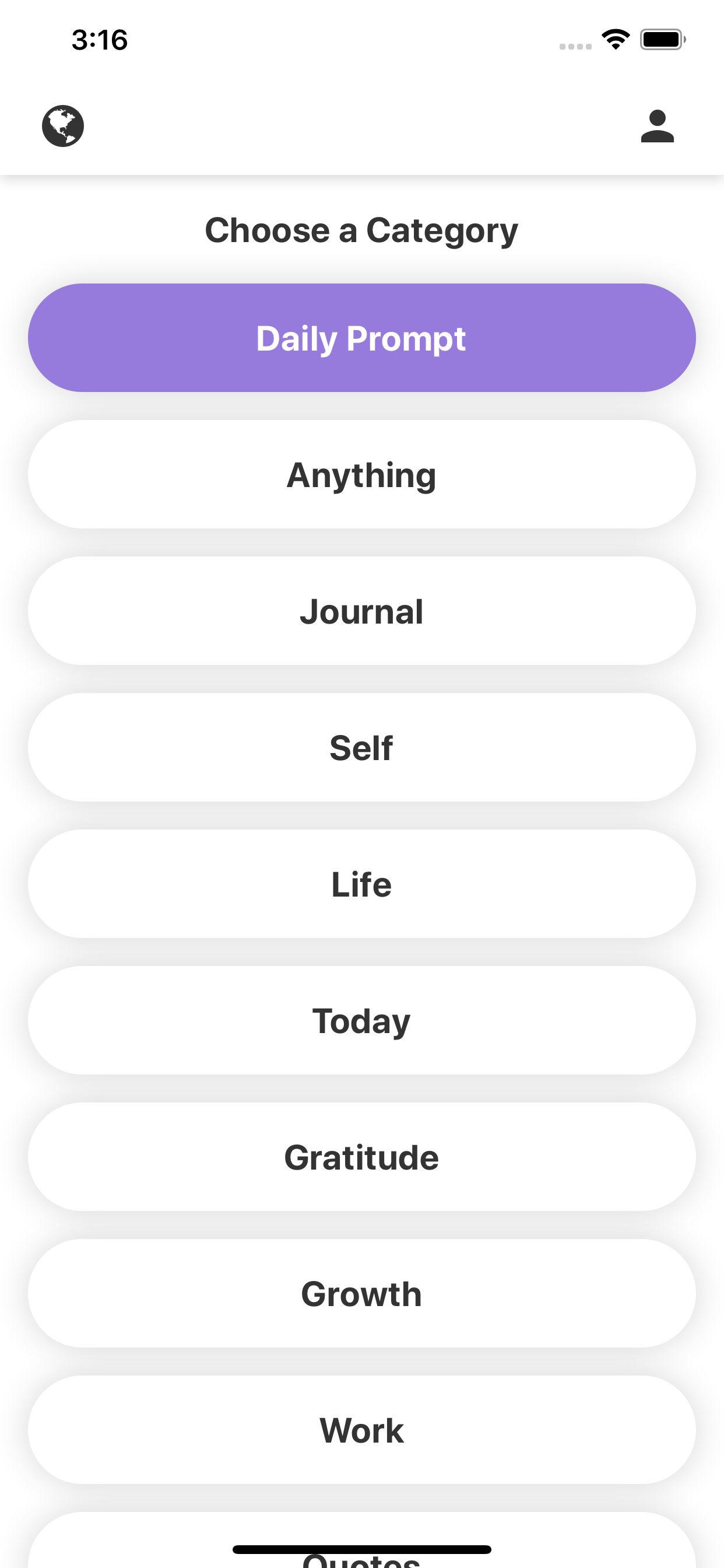 Müse - Daily Reflection App