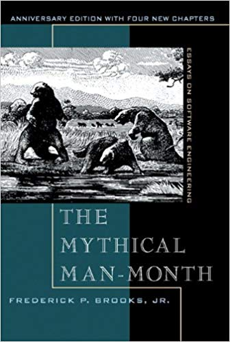 Mythical Man Month by Frederick P. Brooks Jr.