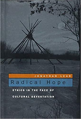 Radical Hope by Jonathan Lear