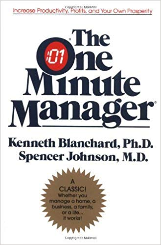 The One Minute Manager by Ken Blanchard